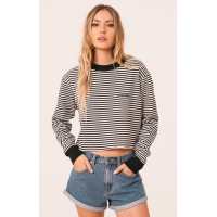 AFENDS ARYA FLEECE SWEATER - WOMENS