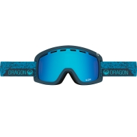 DRAGON D1 2017 GOGGLE STONE BLUE/BLUE STEEL+YELLRED ION S17