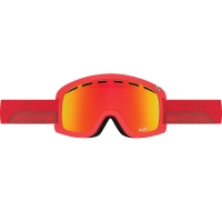 DRAGON D1 2017 GOGGLE STONE RED/RED IONISED+YELLRED ION S17