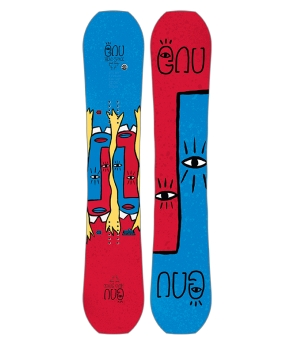 GNU HEAD SPACE SNOWBOARD S18