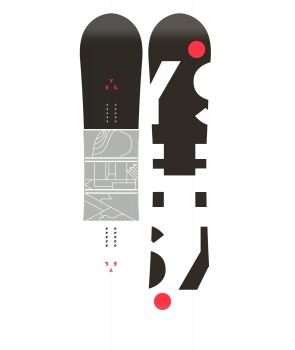 YES JACKPOT SNOWBOARD S18