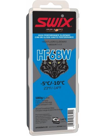 SWIX HF6BWX BLACK WOLF 180G S17