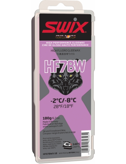SWIX HF7BWX BLACK WOLF 180G S17