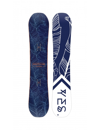 YES EMOTICON WOMENS SNOWBOARD S19