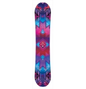 NEVER SUMMER WOMENS ONYX SNOWBOARD S18