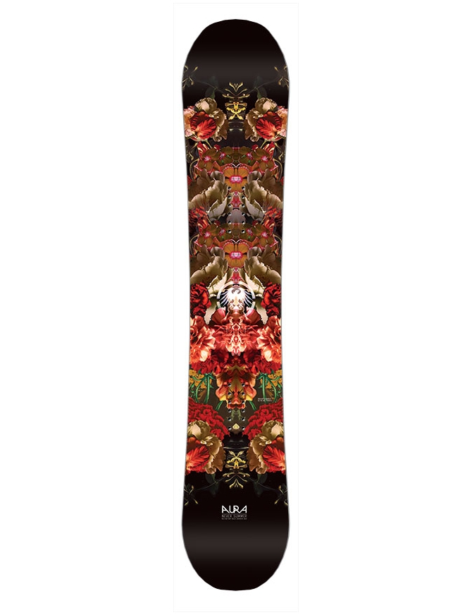 NEVER SUMMER WOMENS AURA X SNOWBOARD S18