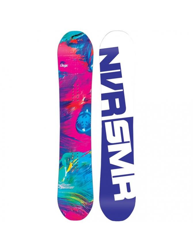 NEVER SUMMER ONYX SNOWBOARD W17 - WOMENS
