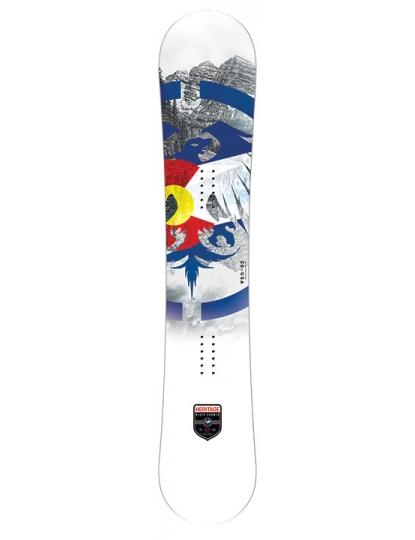 NEVER SUMMER HERITAGE MENS SNOWBOARD S19
