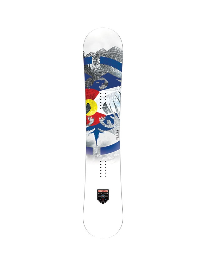 NEVER SUMMER HERITAGE MENS SNOWBOARD S19